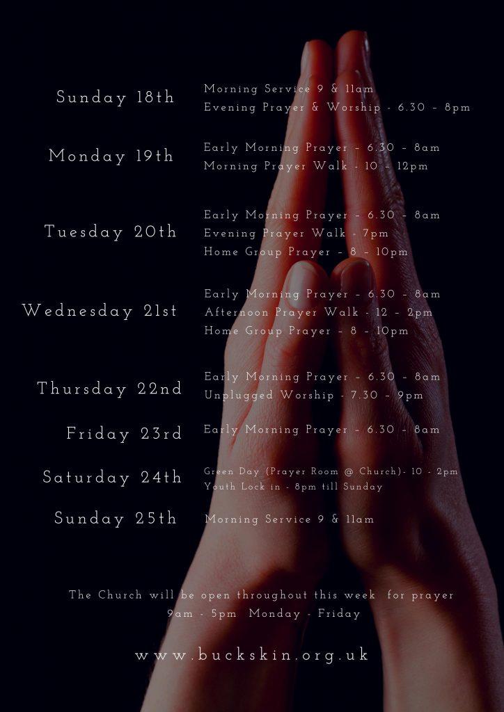 1000 hour of prayer back