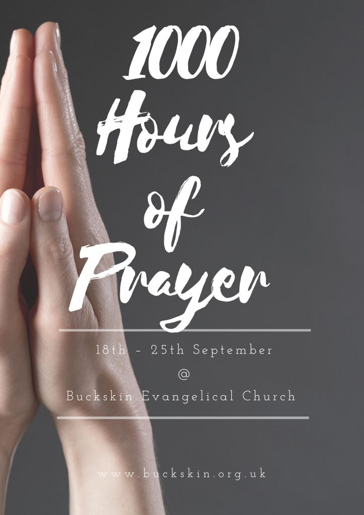 1000 hour of prayer front