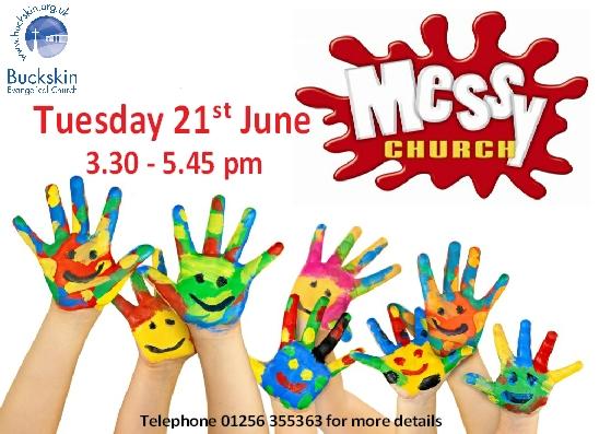 messy church - june16